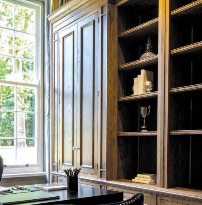 Oak Bookcase 2 SQ