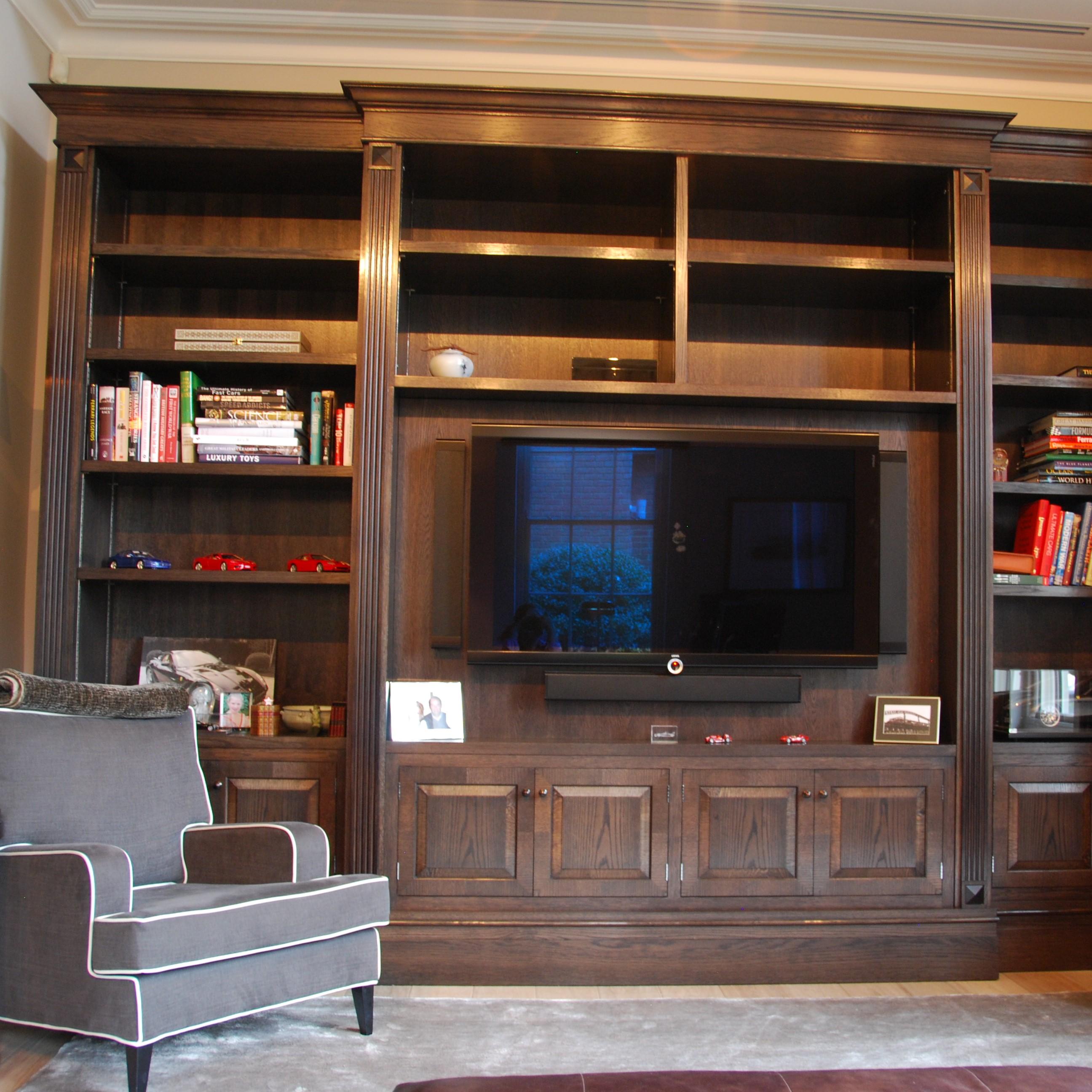 Oak Bookcase SQ