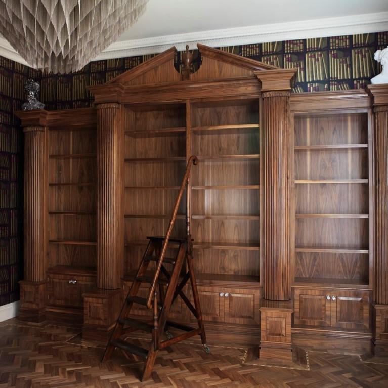 Walnut Bookcase SQ